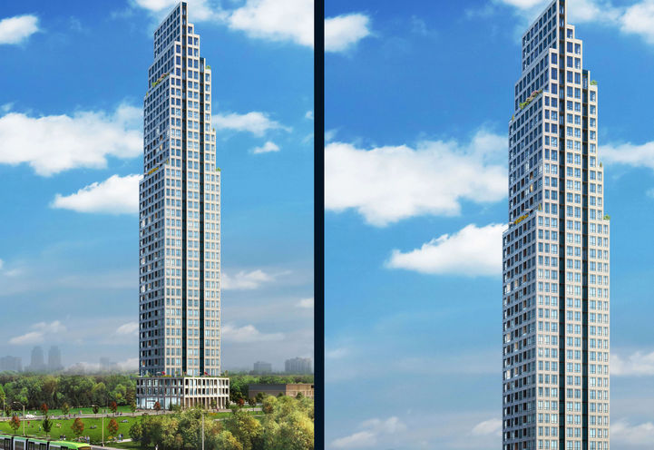 Downtown Mississauga Condo Edge Towers by Solmar Development