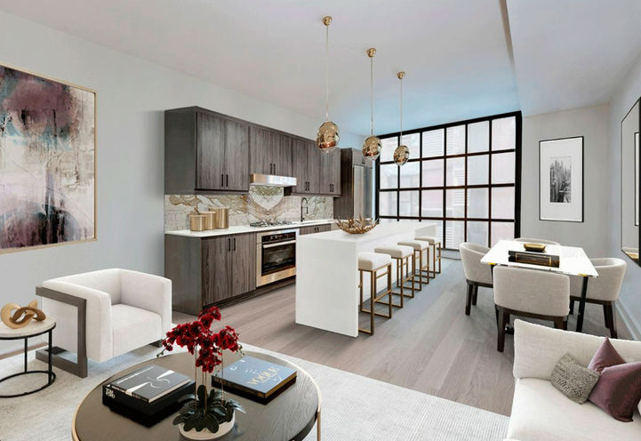 Residents Entrance, Elevate at Logan Townhomes