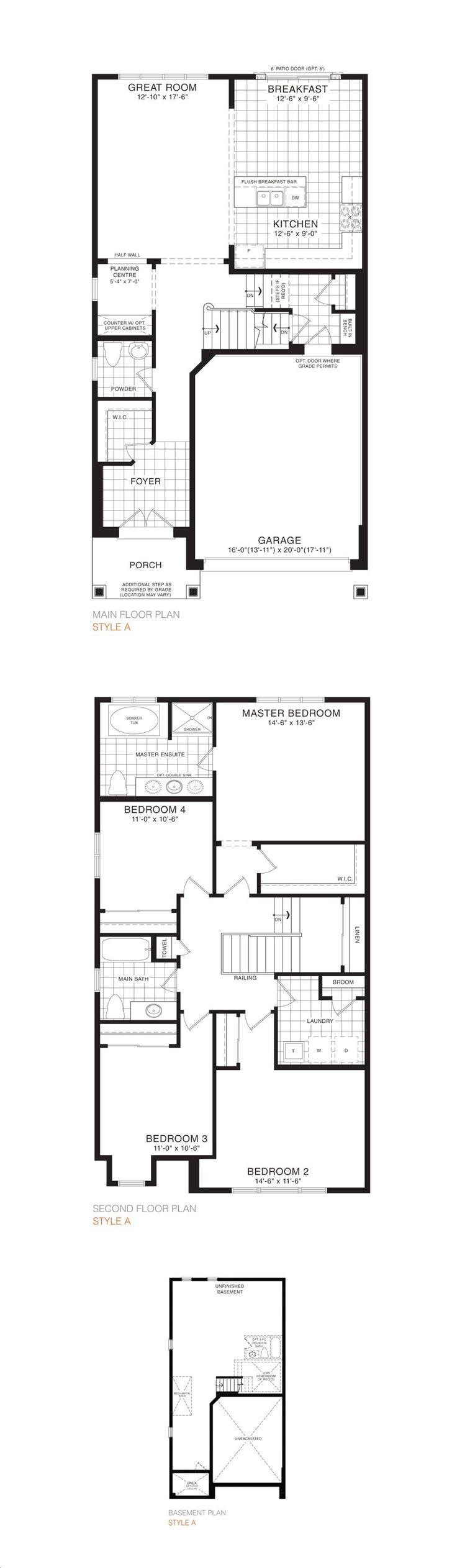 Empire Avalon By Empire Camrose 33 Detached Floorplan 4 Bed 2 5 Bath