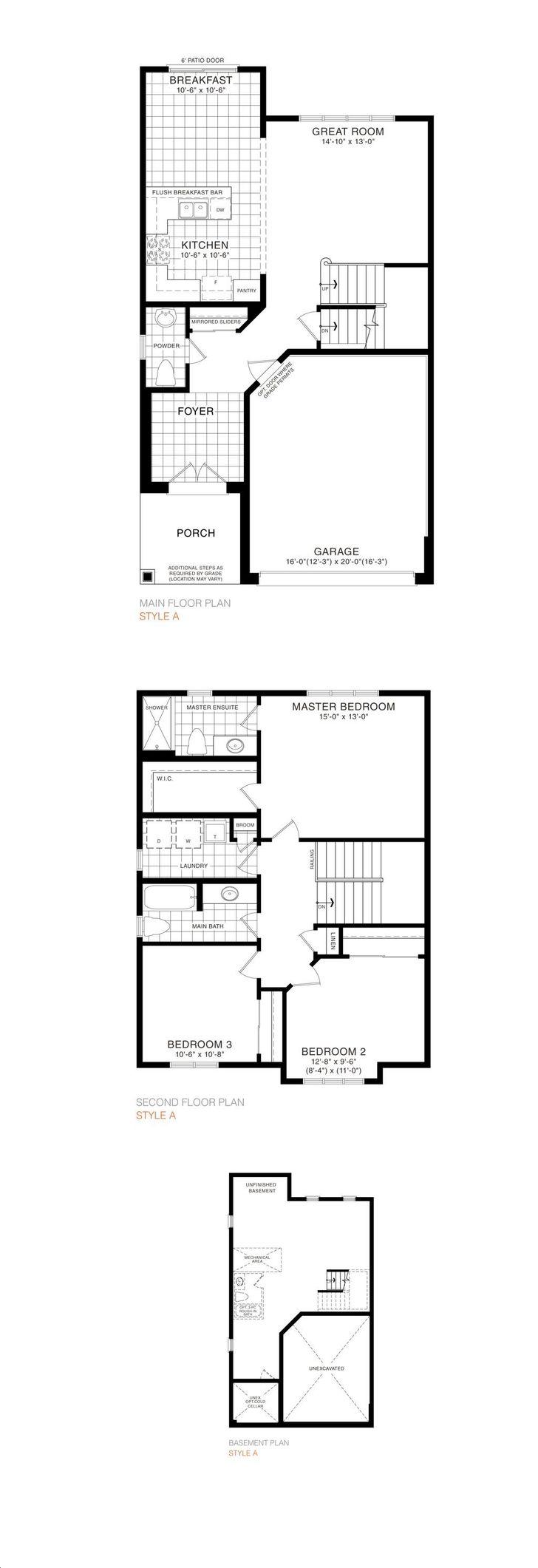 Empire Avalon By Empire Maple 33 Detached Floorplan 3 Bed 2 5 Bath