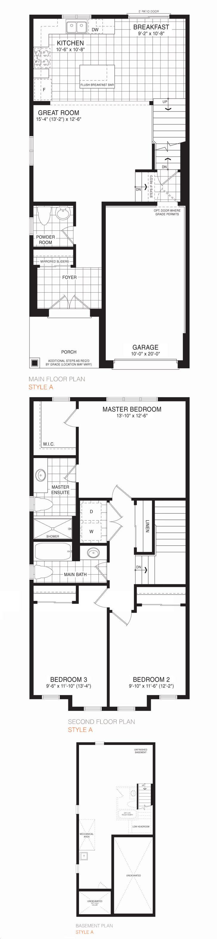 Empire Avalon By Empire Sunridge Floorplan 3 Bed 2 5 Bath