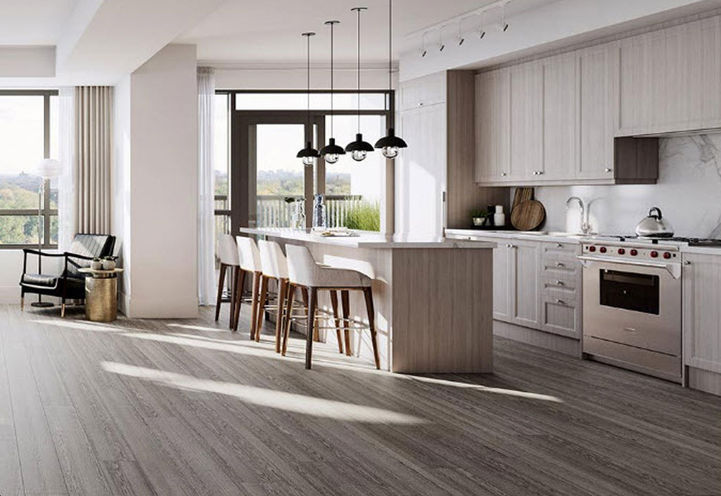 Kitchen Suite Interior Features and Finishes at Empire Maven Condos