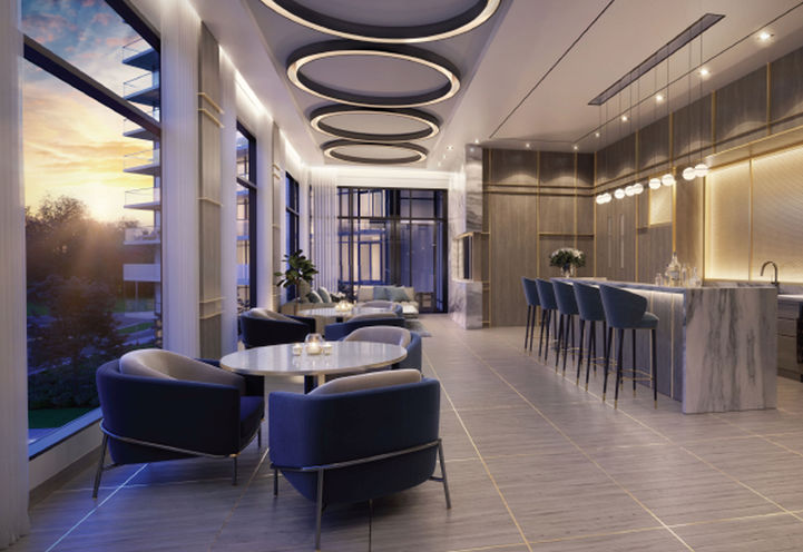 Private Dining Room at Erin Square Condos 2