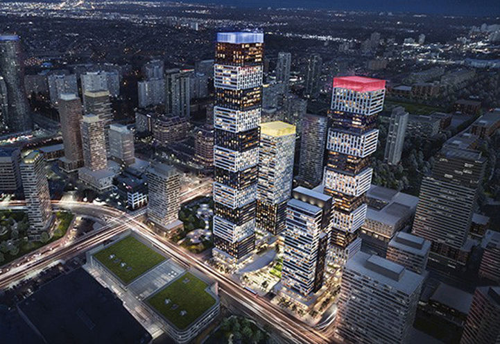 Exchange District Condos at 151 City Centre Dr
