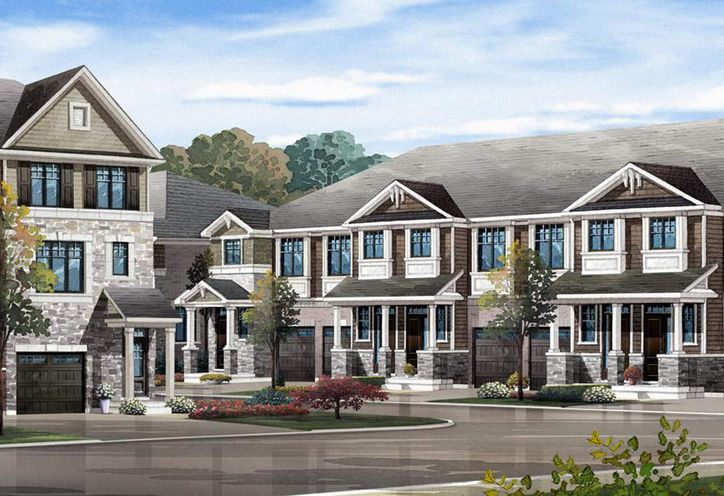 Explore Townhomes rendering 1