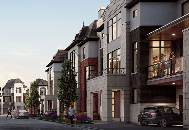 Fifth Avenue Homes Towns at King Rd and Yonge St