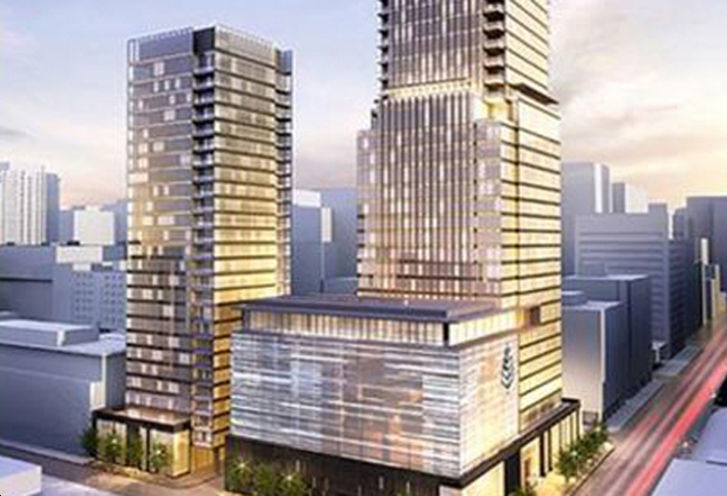Four Seasons Hotel and Private Residences rendering 1