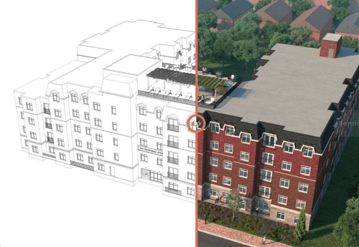 Frontenac Condos from Sketch to Reality