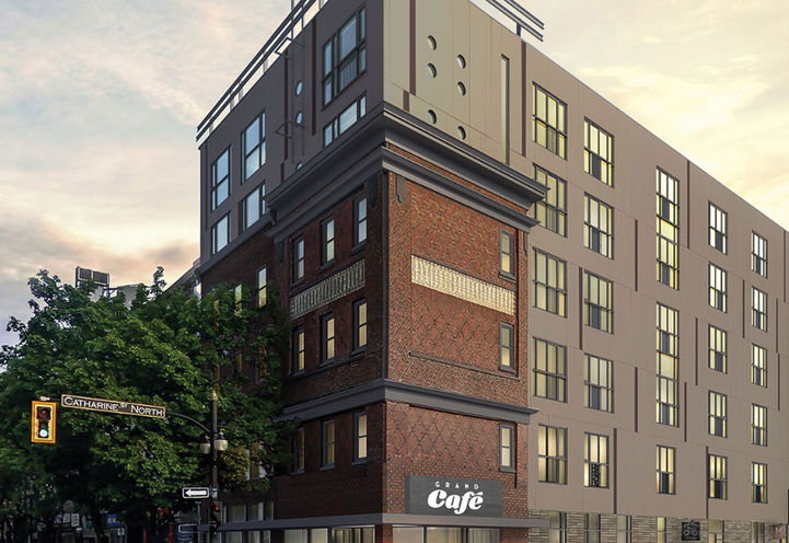 Gore Park Lofts by Scholar Properties and Effort Trust