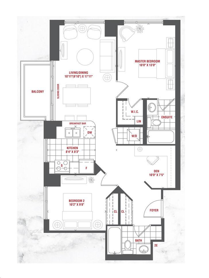 Grande Mirage By Conservatory Destiny Floorplan 2 Bed 2 Bath