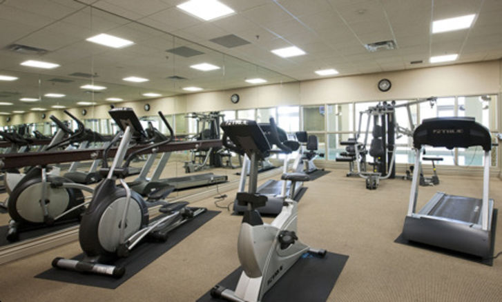 Fitness Center at Grand Mirage Condos