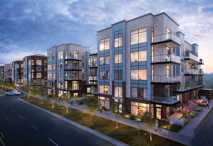 Greenwich Village Towns at Sheppard Subway by Crown Communities