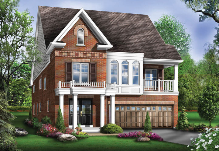Harmony Creek Detached Home Model Exterior View