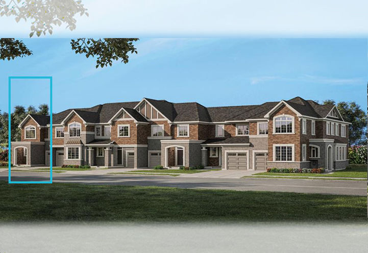 Two- Storey Townhomes  at Hawthorne South Village Towns