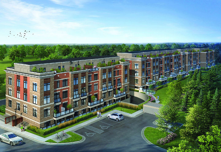 High Point Urban Towns by Laurier Homes