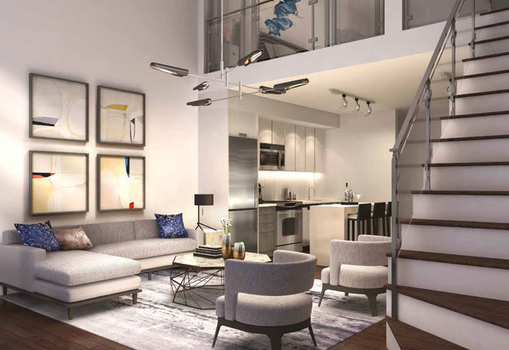 Interior Finishes of Contemporary Lofts at Highlights of Mississauga
