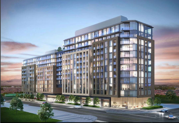 GO2 Exterior Rendering. Condo living by Maple GO Station