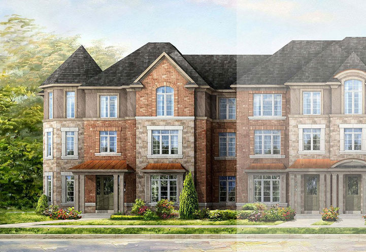 Three Storey Towns with 2 car Garage at Ivy Rouge Towns