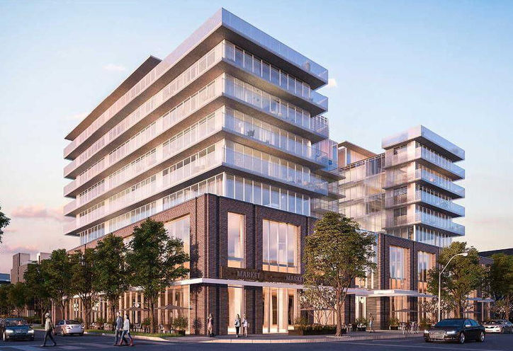 Kingsway By The River Condos and Towns Exterior Rendering