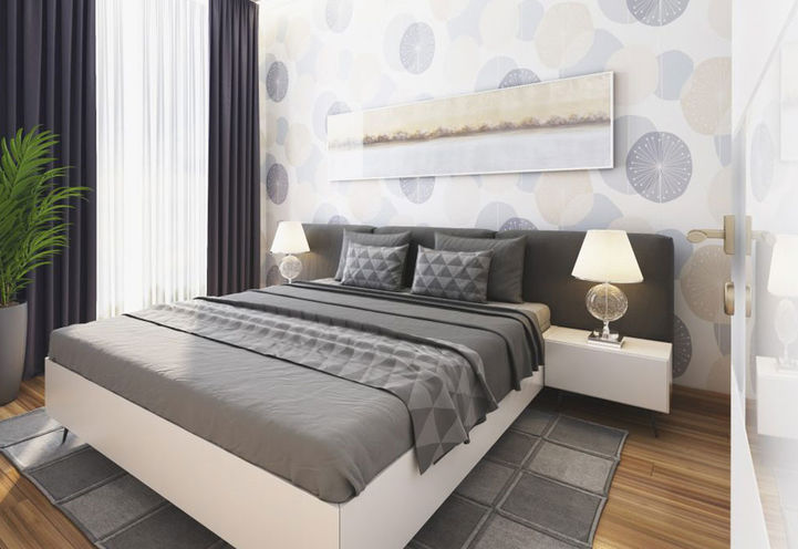 Master Bedroom Suite Interior Features and Finishes at LJM Tower