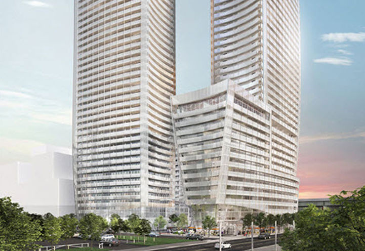 Lakeside Residences   on Lower Sherbourne St & Queens Quay E