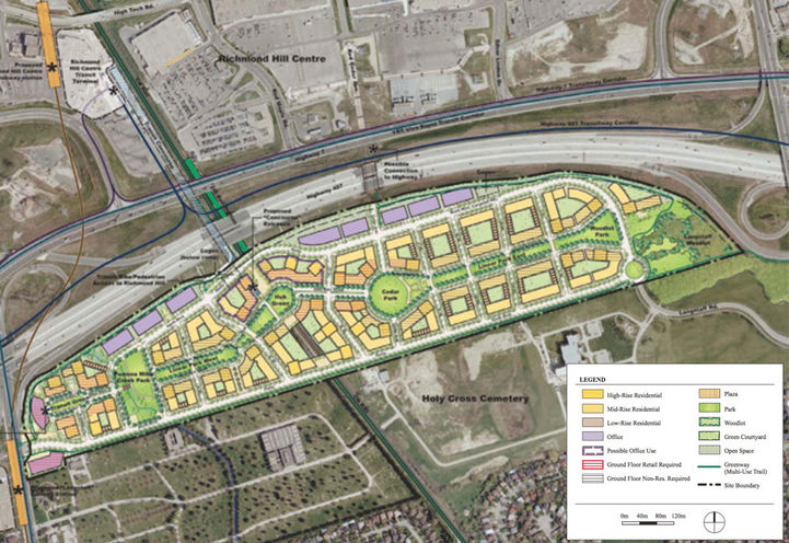 Land Use Map For Langstaff Gateway