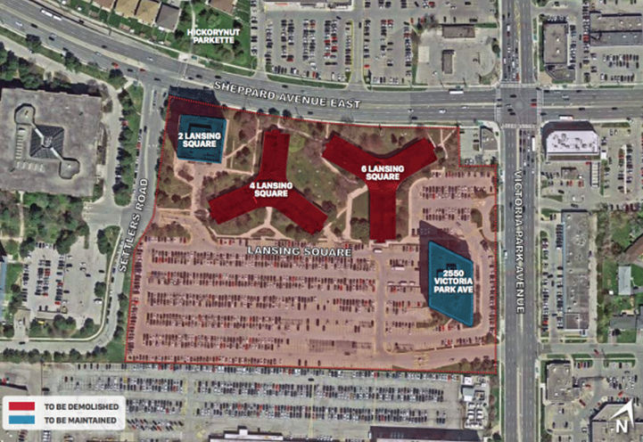 Proposed Location for Lansing Square Condos 3