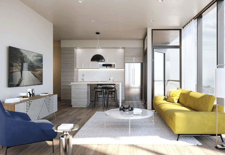 Suite Interior Features and Finishes at Liberty House Condos