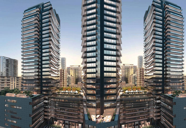 Line 5 Condos at Broadway Ave & Redpath Ave