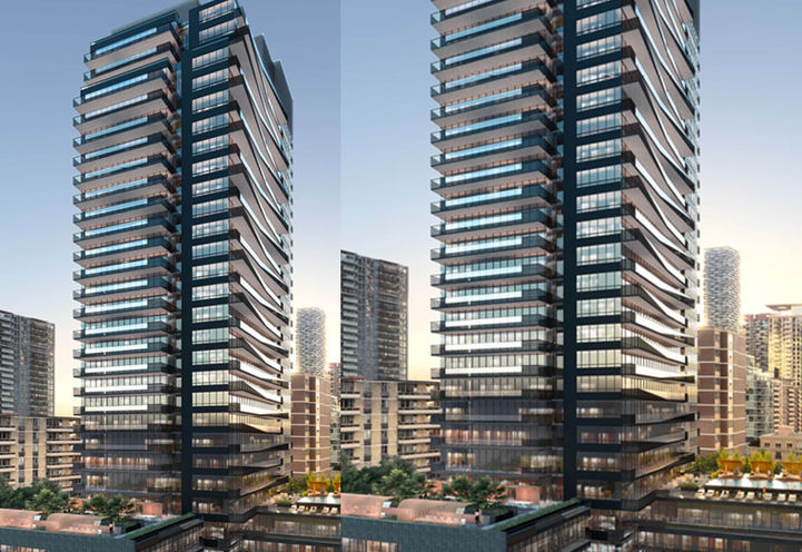 Line 5 Condos South Tower by Reserve  and Westdale Properties