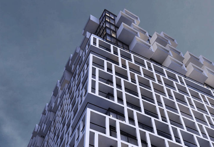Early Rendering of Margo Condos
