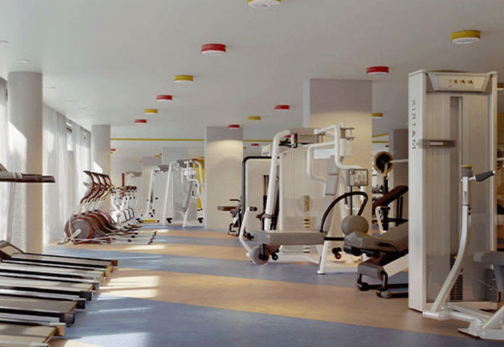 Fitness Room at Margo Condos