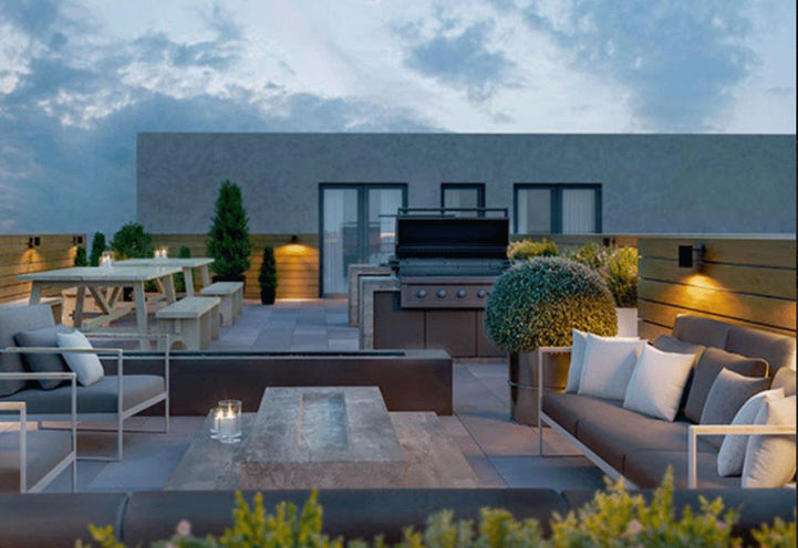 Outdoor Terrace - Margo Condos by Aspen