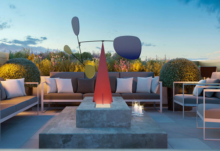 Rooftop Terrace at Margo Condos