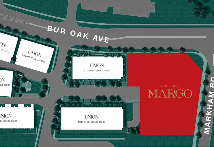 Site Plan for Margo Condos