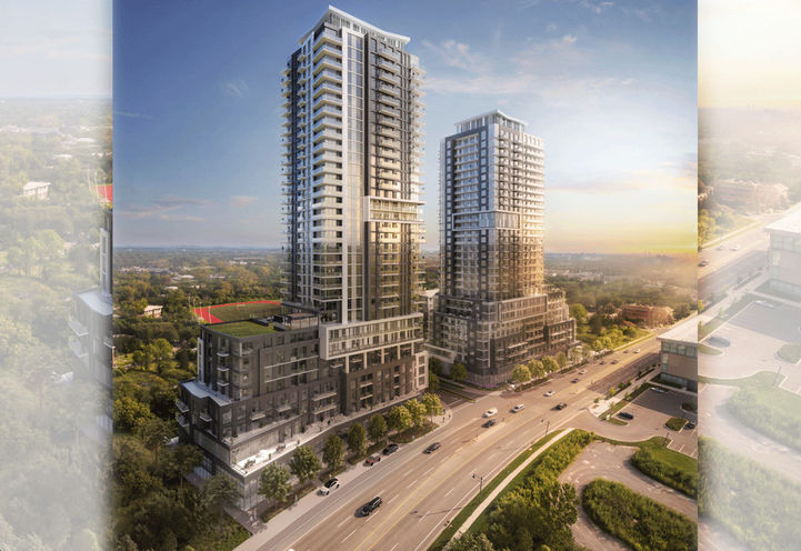 Markham Square Condos by Ideal Development