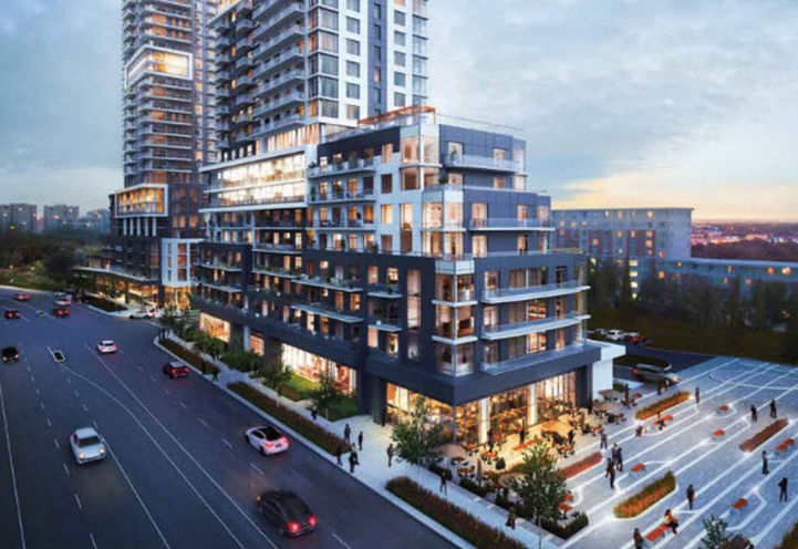 Markham Square East Tower Condo by Ideal Developments