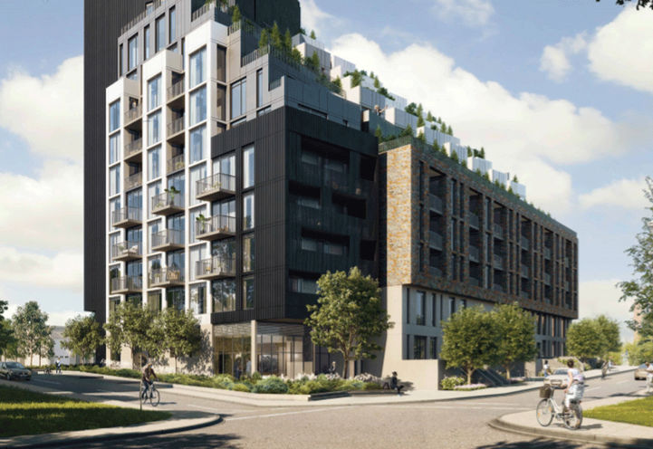 Podium View- Merge Condos at Kingston Rd & Danforth Ave