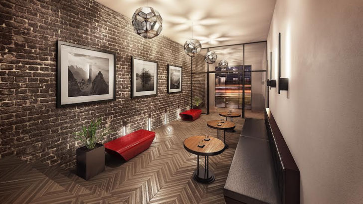 Midtown Lofts lounge
