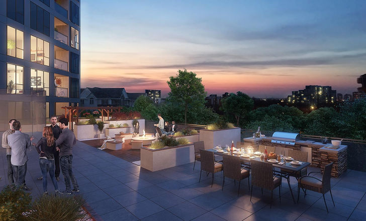 Midtown Lofts terrace