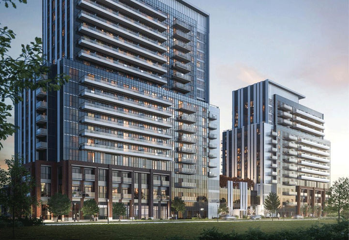 View of Mobilio Condos at Jane St. & Hwy 7