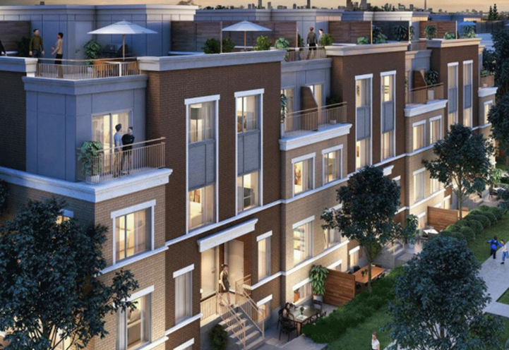 Aerial View, Private Rooftop Terraces for Villa Collection at Mobilio