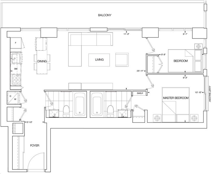 Nautique lakefront residences by adi azure floorplan 2 for Lakefront home floor plans