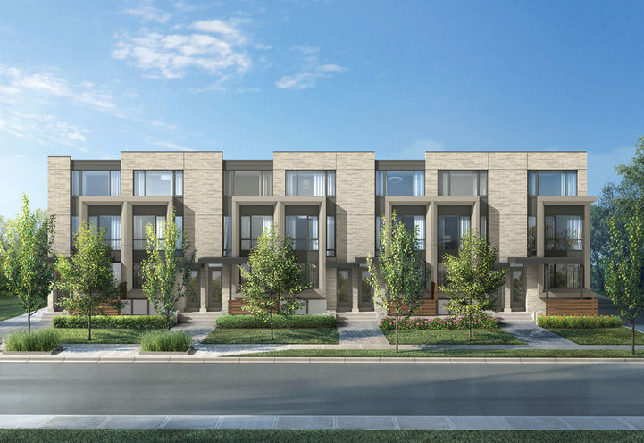 Bedford Park Unit Renderings at New Lawrence Heights