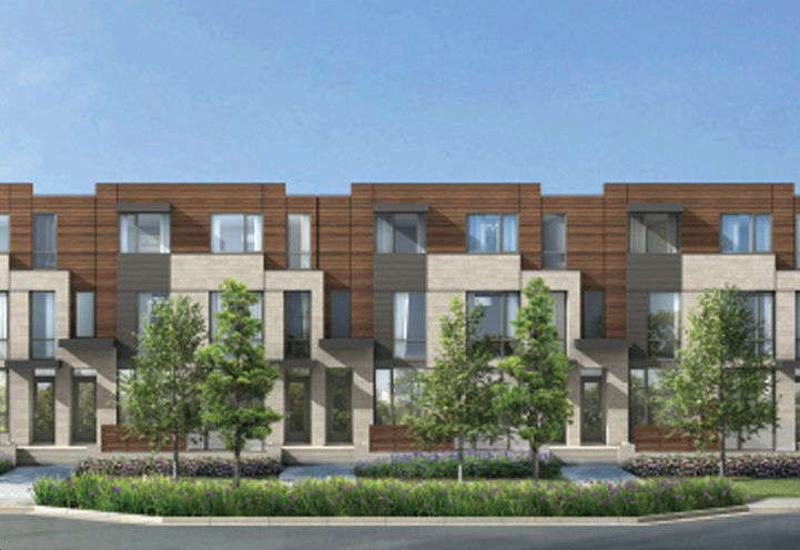 Lawrence Park Unit Renderings at New Lawrence Heights