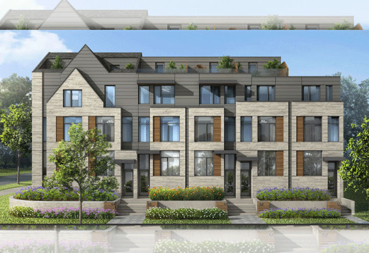 Modern Townhomes at The New Lawrence Heights Master Planned Community