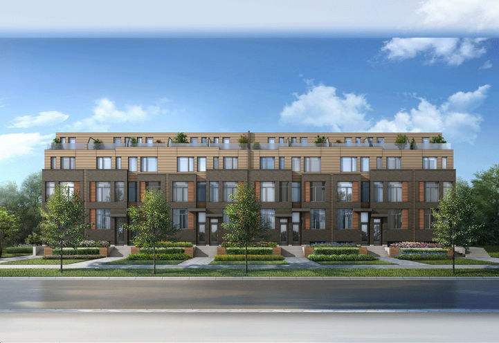 Unit Renderings of New Lawrence Heights