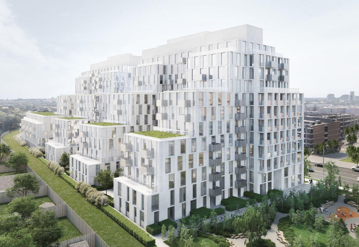 Nordic Condos Exterior by CollecDev