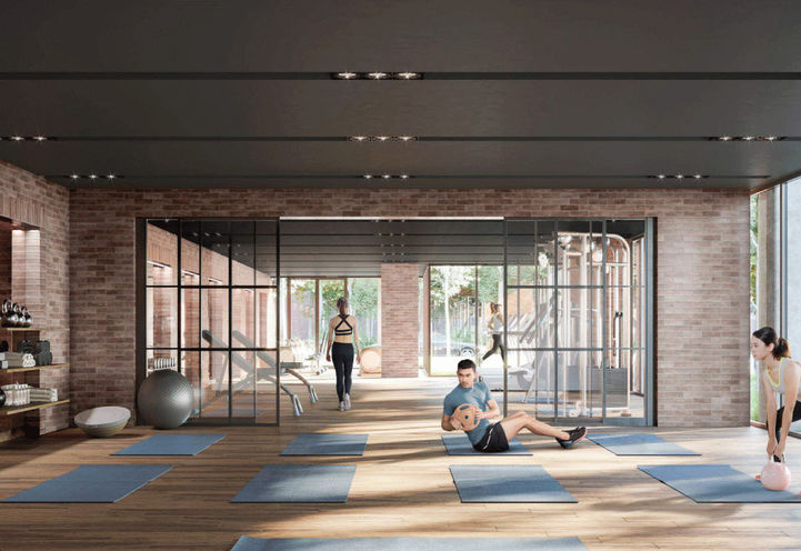 Fitness Room at Notting Hill Condos