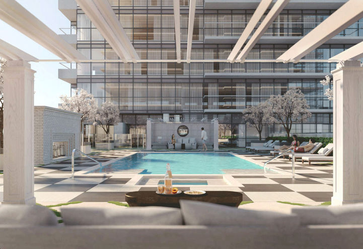 Pool at Notting Hill Condos